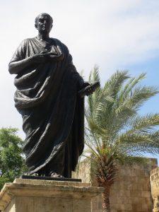 römischer Philosoph Seneca in Cordoba