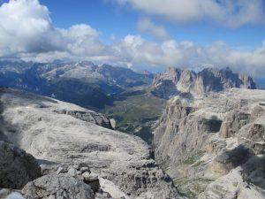 Tagestour in den Dolomiten - großartige Aussicht