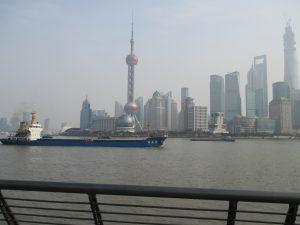 Shanghai Pudong - Banken und Handelszentrum