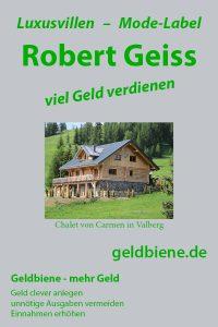 Robert Geis und Carmen Geiss: viel Geld verdienen durch Mode Label Roberto Geissini, Hotel - Geissens Valberg ...