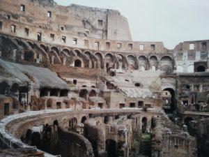 Kolosseum in Rom von innen: Hier fanden Gladiatorenkämpfe statt