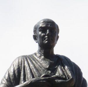 Seneca römischer Philosoph: Statue in Cordoba
