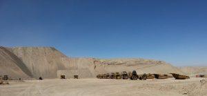 Chile Chuquicamata Kupfermine in der Atacama-Wüste