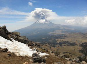 Popocatépetl Vulkan - Rundreise in Mexico