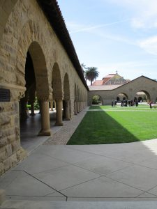 Stanford University im Silicon Valley: Bogengang